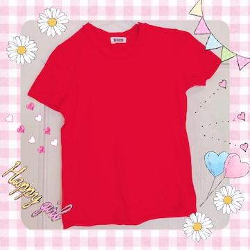 ウィルセレクション 赤色 Tシャツ