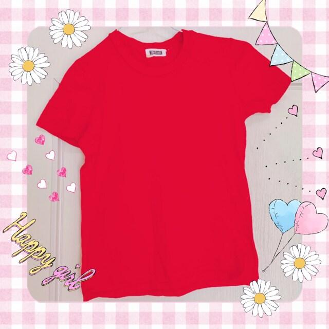 ウィルセレクション 赤色 Tシャツ  < ブランドの