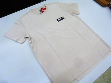 M 肌色)プーマ★Tシャツ 583028 FUSION 半袖丸首 パイル タオル
