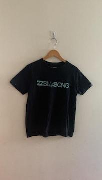 BILLABONG ビラボン ロゴ入り半袖Tシャツ 黒 S メンズ