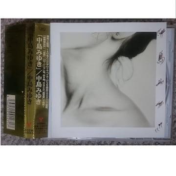 KF  中島みゆき  中島みゆき 【リマスター(HQCD)】