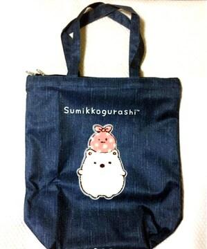 新品 すみっコぐらし 防水 撥水 軽量 大きめ トート バッグ 鞄