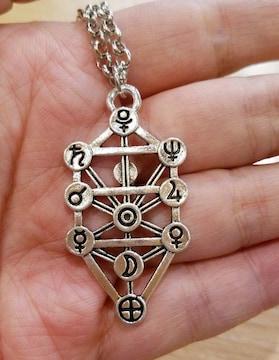 ユダヤ神秘主義カバラ 生命の樹 セフィロト ネックレス