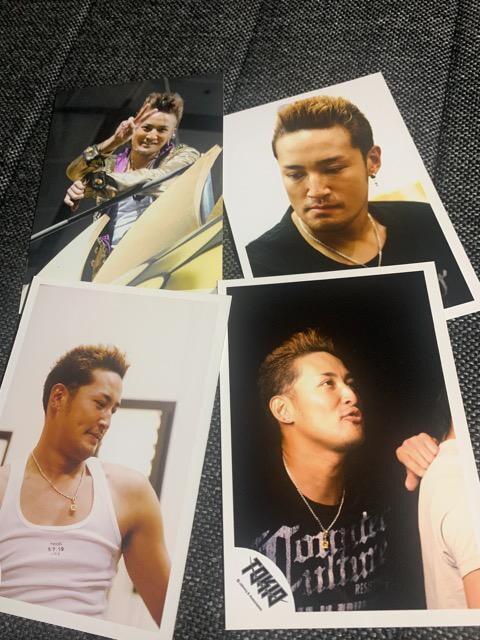 TOKIO・松岡昌宏・公式写真4枚セット  < タレントグッズの