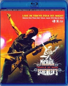 Michael Schenker マイケルシェンカー東京 2014 3.12 (Blu-Ray)