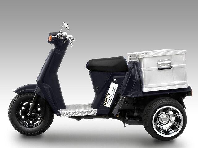 ホンダ ジャイロUP アルミステップボード < 自動車/バイク