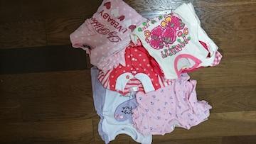 ロンパース☆tシャツの5点セット☆お得