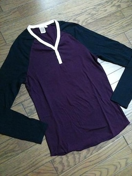 美品TOPMAN ラグランTシャツ トップマン