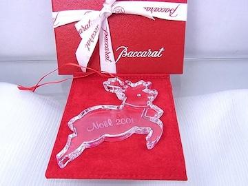 正規品☆バカラ Baccarat クリスマスオーナメント 2001年 極美品★dot