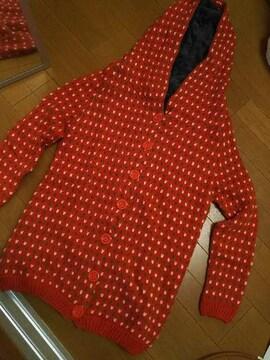 新品/内側フワフワ/フード付き可愛い羽織り