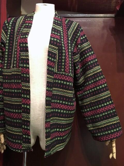 織り柄羽織り★アジアン★エスニック★ヒッピー★サイケ★ < 女性ファッションの