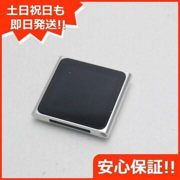 ●安心保証●美品●iPOD nano 第6世代 8GB シルバー●