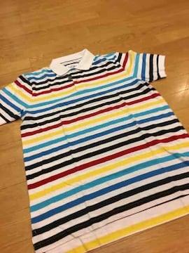 OLD NAVY  デザインボーダーポロシャツ  半袖  sizeS   激安