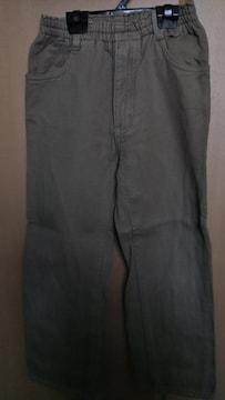 mou jon jon◇長ズボン カーキ 110cm タグ切り取り