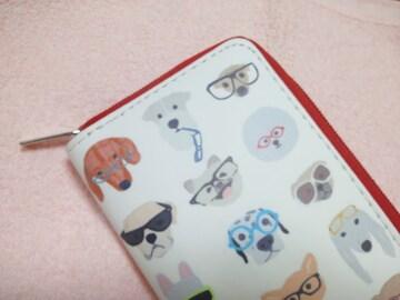 ワンちゃん長財布★犬★わんこ