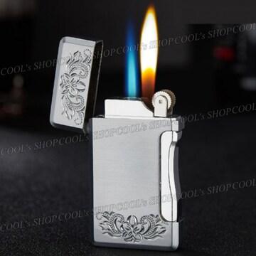 プルメリア ハワイアンジュエリー ターボ切替え可能ガスライター