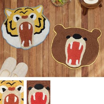 マット がおー!! シリーズ トラ クマ 動物マット