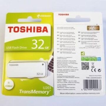 THN-U203W0320 東芝 スライド式 USBフラッシュメモリー 32GB