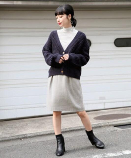美品☆ローリーズファーム☆シャギースカート  < ブランドの