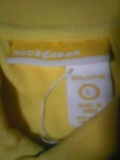 B-BOY.スト系 新品 ROCA WEAR ロングポロシャツ L < ブランドの