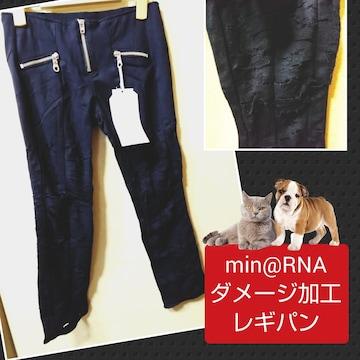 min@RNA★新品★ダメージ加工レギパン/M