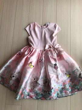 美品 H&M ワンピース ドレス キッズ 130 140