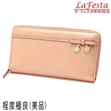 ◆本物美品◆グッチ【人気】長財布(ピンク系シャンパンゴールド