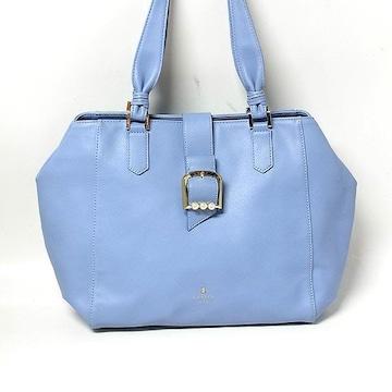 【ランバン/LANVIN】en Bleu パール ハンドバッグ ス