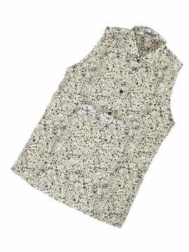 希少◆ボッテガヴェネタ◆コットンノースリーブシャツ/44