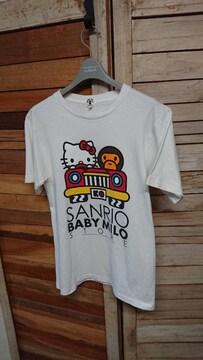 APE/BABY MILO/SANRIO/ハローキティ エイプ マイロ Tシャツ S