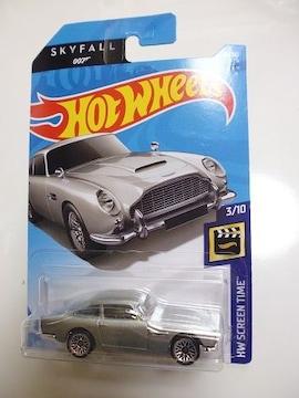 .007 スカイフォール アストンマーチン 1963 DB5 ホットウィールASTON MARTIN