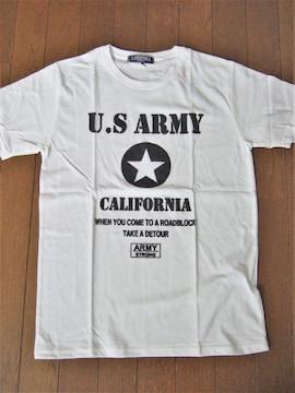 ★アメカジ★U.S.ARMY★プリントTシャツ★