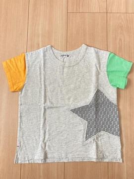 未使用 ラグマート 半袖 キッズ Tシャツ サイズ110 グレー 星