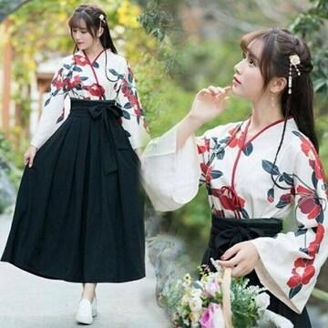 Mサイズ 着物 袴 和風 和服