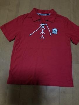 ◆BURBERRY◆編み上げポロシャツ◆