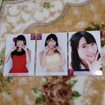 NMB48明石奈津子☆公式生写真〜まとめ売り8枚セット!