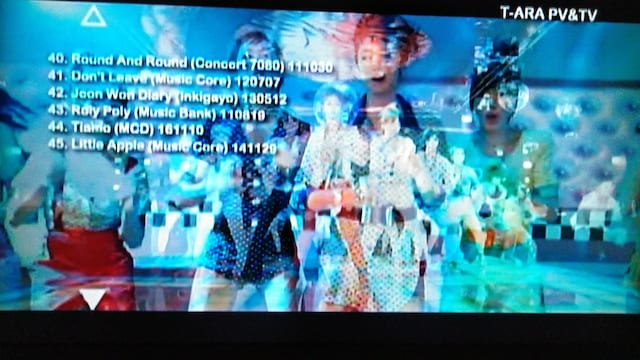 COME BACK T-ARA PV&TV BEST45 < タレントグッズの