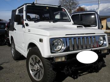 超稀少ジムニー71系幌人気の白5速マニュアルターボ車検あり