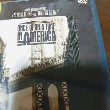 DVD  ワンスアポンアタイムインアメリカ 洋画