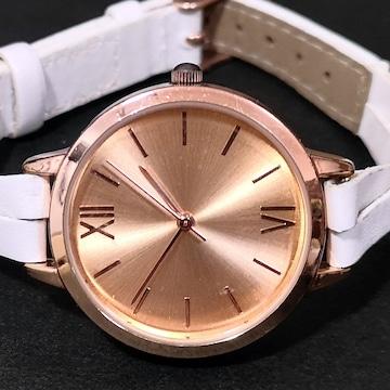 美品【980円〜】claire's 美シンプル レディース腕時計