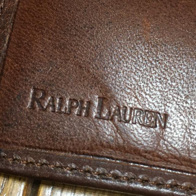 ヴィンテージ ラルフローレン 2つ折りウォレット 良品 < ブランドの