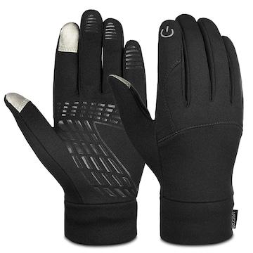グローブ スマホ対応 暖かい手袋 ブラック