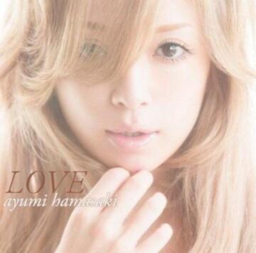 浜崎あゆみ/LOVE(CD+DVD)