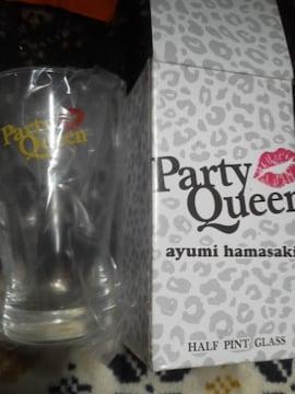 浜崎あゆみ パーティークイーン ハーフピント グラス 新品