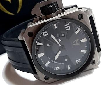 美品【箱付き】MEISTER マイスター 超大型 ゴツい無骨な腕時計