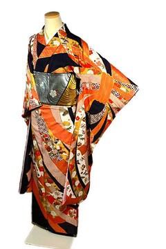 【最高峰】新品同様  金駒刺繍 吉祥束ね熨斗文 振袖 T2197