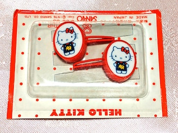 レア 新品 1976年製 キティ ヘアゴム サンリオ 初期 昭和レトロ