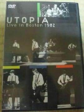 DVDソフト ユートピア ライブ・イン・ボストン1982 輸入盤 洋楽