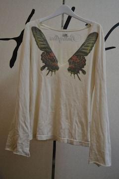LGBルグランブルー バタフライカットソー ロンTシャツ