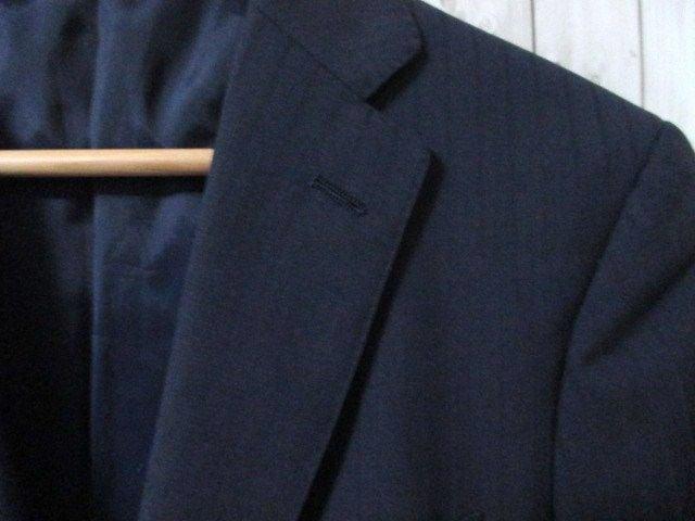 ☆ユナイテッドアローズ ストライプ セットアップ スーツ/メンズ/S(44) < ブランドの